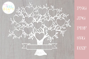 Family Tree Svg 12 Members, Reunion Svg Graphic Crafts By MySVGDesigns