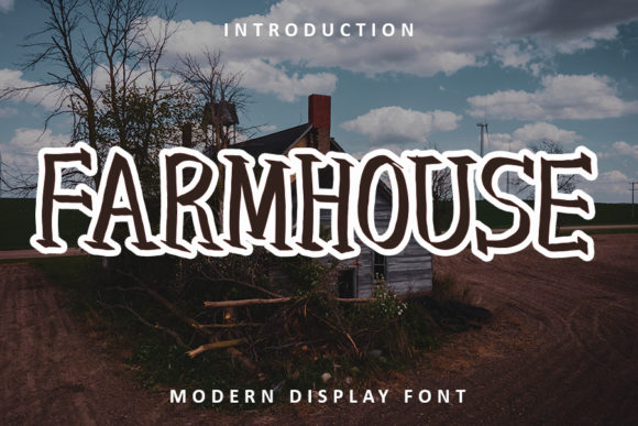Print on Demand: Farmhouse Display Font By FL Space