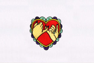 Heart Shape Wedding Designs Embroidery Design By DigitEMB