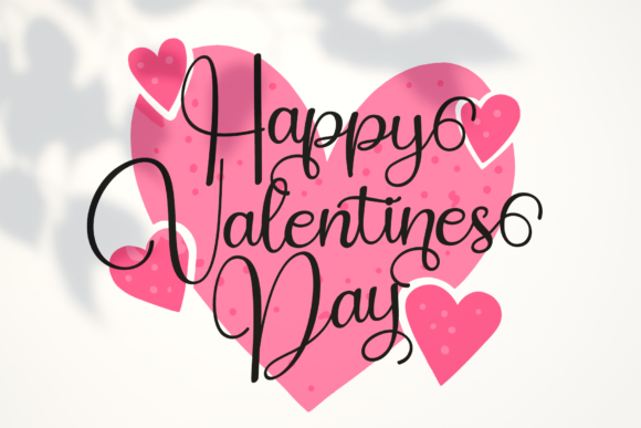 Hello Valentines Font Preview