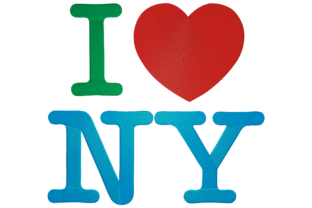 I Love NY Around the world Embroidery Design By Digital Creations Art Studio