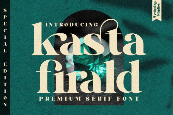 Print on Demand: Kasta Firald Serif Font By letterenastudios
