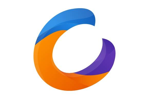 Print on Demand: Letter C Logo Colorful Graphic Logos By pnajlab