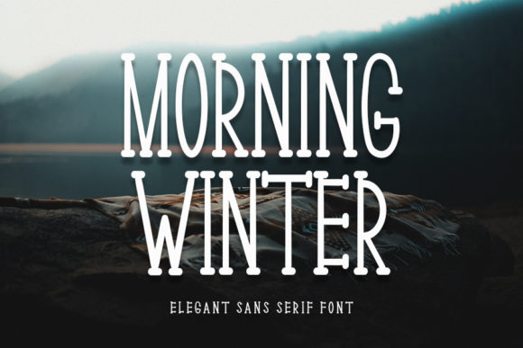 Print on Demand: Morning Winter Serif Font By Inermedia STUDIO