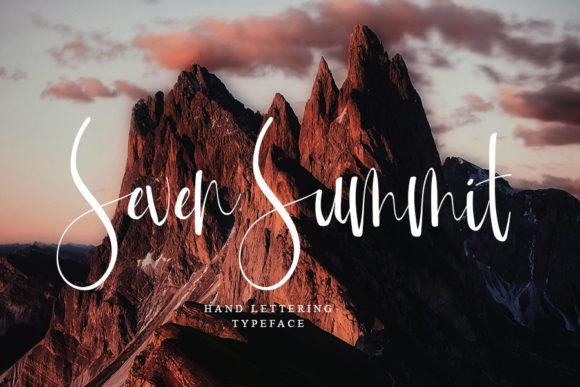Mountain of Journey Font Download