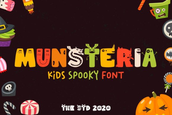 Print on Demand: Munsteria Display Font By tokokoo.studio