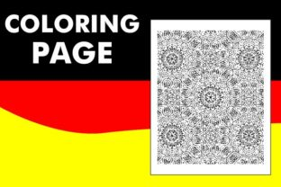 Print on Demand: Pattern Mandala Coloring Page (V6) Graphic Coloring Pages & Books Adults By Mah Moud