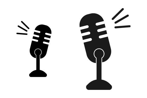 Print on Demand: Podcast Microphone Graphic Crafts By pnajlab