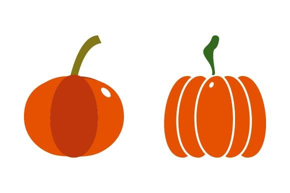 Print on Demand: Pumpkin Clipart Graphic Crafts By pnajlab