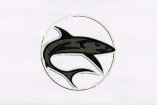 Shark Fish & Shells Embroidery Design By DigitEMB