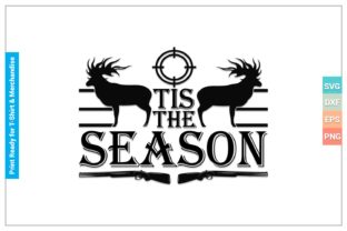 TIS the SEASON SVG Cricut Files Graphic Crafts By SVGitems