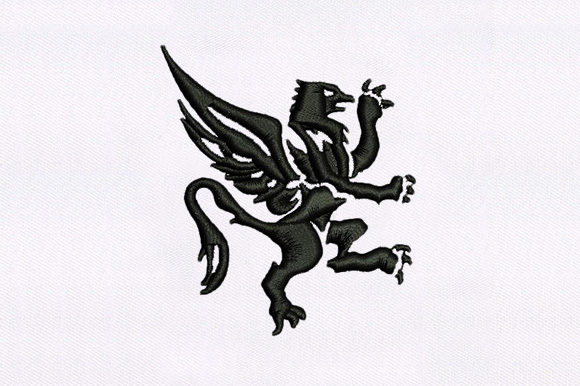 The Great Griffin Birds Embroidery Design By DigitEMB