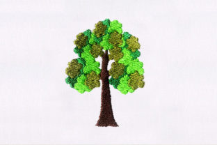 Tree Forest & Trees Embroidery Design By DigitEMB