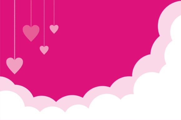 Print on Demand: Valentine Beauty Background Graphic Illustrations By edywiyonopp
