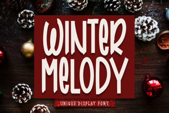 Print on Demand: Winter Melody Script & Handwritten Font By Inermedia STUDIO