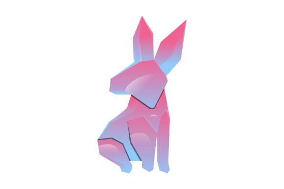 Print on Demand: Rabbit Logo Colorful Graphic Logos By pnajlab
