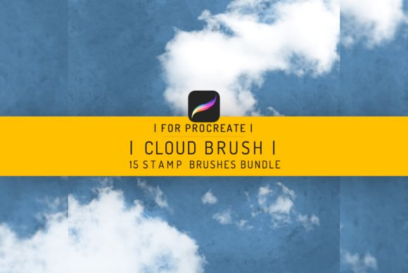 15 Procreate Clouds Brushes Graphic Brushes By EfficientTools
