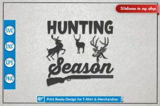 Hunting Season Graphic Crafts By HeavenFair