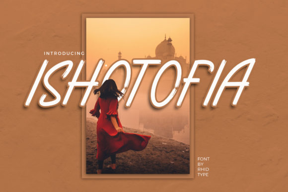 Print on Demand: Ishotopia Display Font By RHIDTYPE