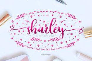 Print on Demand: Sharley Script & Handwritten Font By Infontree