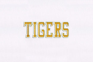 Tigers Animal Quotes Embroidery Design By DigitEMB