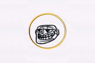 Troll Face Circus & Clowns Embroidery Design By DigitEMB