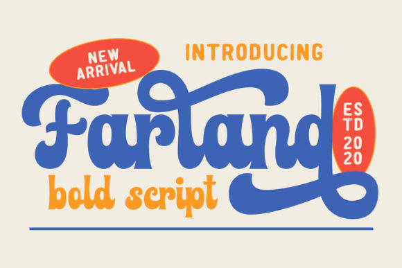 Print on Demand: Farland Script & Handwritten Font By Rillatype