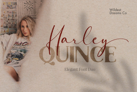 Print on Demand: Harley Quince Manuscrita Fuente Por Wildest Dreams Co