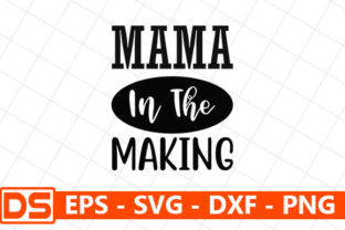 Print on Demand: Mama in the Making Graphic Print Templates By Design Store