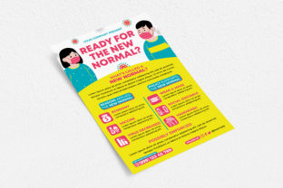 New Normal Flyer Graphic Print Templates By medzcreative