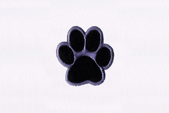 Paw Print Animal Quotes Embroidery Design By DigitEMB