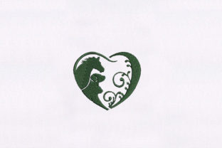 Pleasant Heart Animal Quotes Embroidery Design By DigitEMB