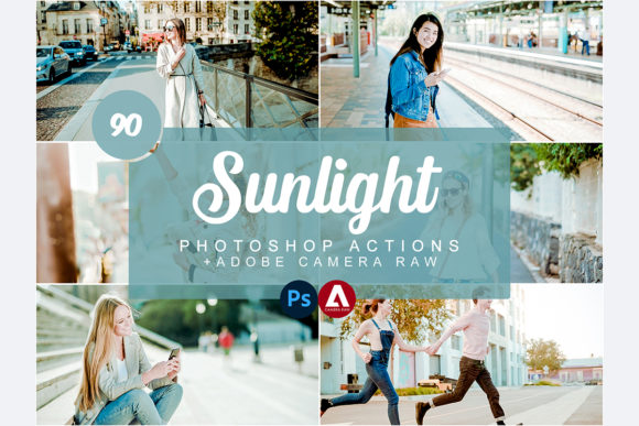 Sunlight Photoshop Actions Graphic Actions & Presets By Snipersden