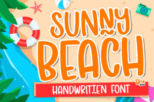Print on Demand: Sunny Beach Display Font By dmletter31