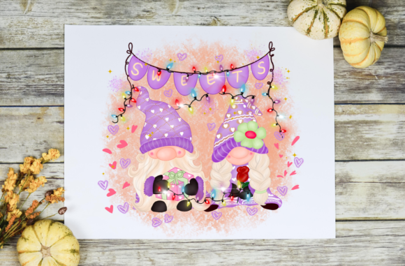 Valentine's Day Sweetness Sublimation Graphic Design