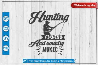Hunting Fishing Graphic Crafts By HeavenFair