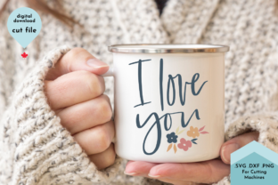 Print on Demand: I Love You Svg, Mothers Day Graphic Crafts By Lettershapes