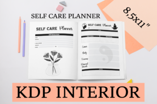 Print on Demand: Self Care Planner | KDP Interior Graphic KDP Interiors By KDP Mastermind