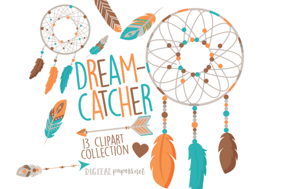Print on Demand: Bohemian Dreamcatchers Graphic Illustrations By DigitalPapers