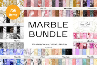Marble Textures Bundle Graphic Backgrounds By BonaDesigns