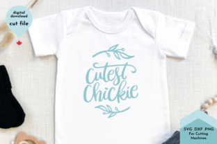 Print on Demand: Spring Baby Svg, Cutest Chickie Graphic Crafts By Lettershapes