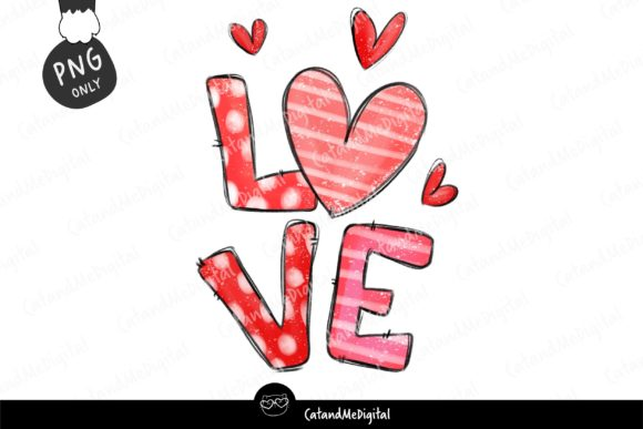 Valentine Sublimation. Graphic Illustrations By CatAndMe