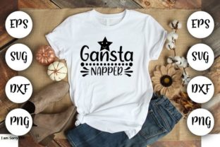 Print on Demand: Gansta Napper Grafik Druck-Templates von Design_store