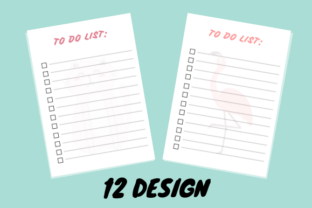 Print on Demand: To Do List - 12 Design 2021 Graphic KDP Interiors By GdiDesign