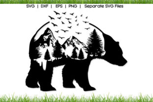 Bear Mountain Graphic Crafts By VectorSVGFormet