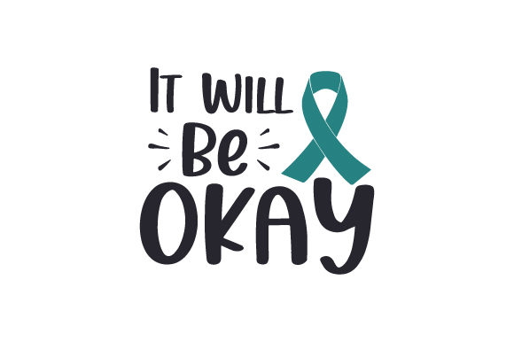 It Will Be Okay Awareness Craft Cut File By Creative Fabrica Crafts