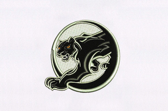 Black Cat Cats Embroidery Design By DigitEMB