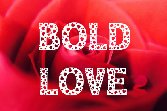 Print on Demand: Bold Love Display Font By Vladimir Carrer