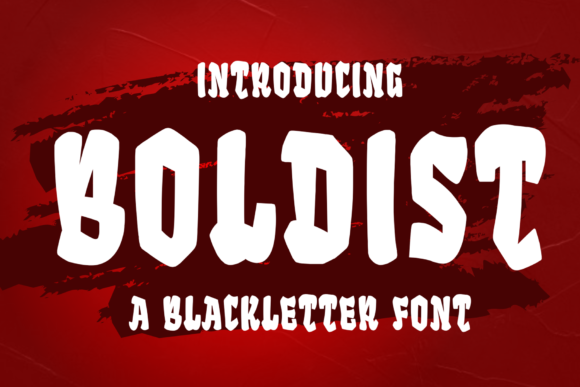 Print on Demand: Boldist Display Font By sipanji figuree