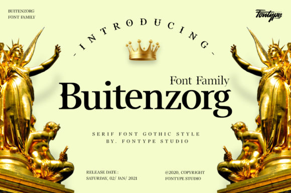 Print on Demand: Buitenzorg Serif Font By fadilahridwan69